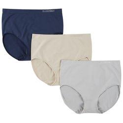 Ellen Tracy 3-pk. Seamless Brief Panties 51417P3