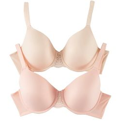 Ellen Tracy 2-pk. Full Coverage Underwire Bras 594