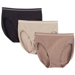 Ellen Tracy 3-pk. Seamless Brief Panties 51220P3