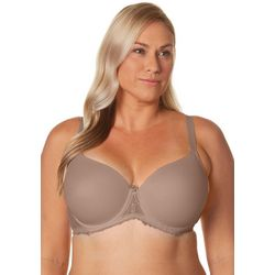 Ellen Tracy Full Figure Underwire Lace Detail Bra 59383X