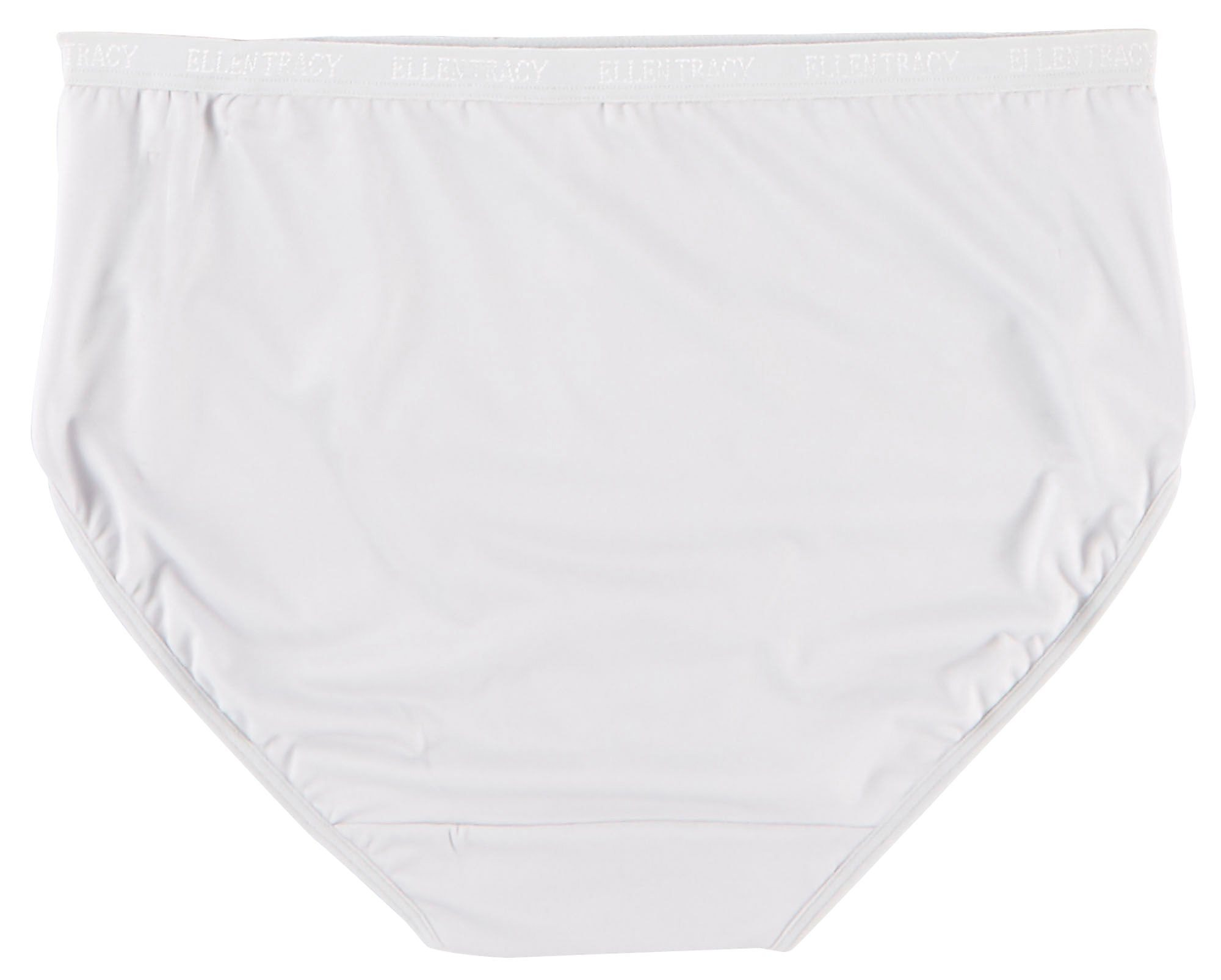 bda99bb51911 Ellen Tracy 3-pk. Light Microfiber Hi-Cut Panties 51209P3 | eBay