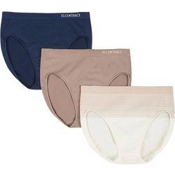 Ellen Tracy 3-pk. Seamless Hi-Cut Panties 51221P3