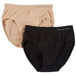 Jones New York 2-pk. Seamless Hi-Cut Panties