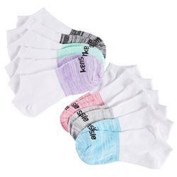 Kensie Womens 6-pk. Space Dye Low Cut Socks