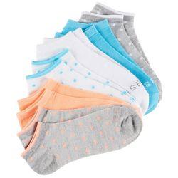 Kensie Womens 6-pk. Dot Print No Show Socks
