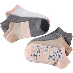 Vince Camuto Womens 6-pk. Floral No Show Socks