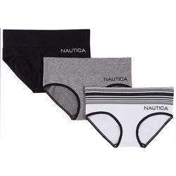 Nautica 3-pk. Seamless High Waist Hipster Panties NT4424