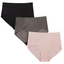 Marilyn Monroe 3-pk. Laser Cut Brief Panties MM7623