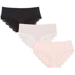 Marilyn Monroe 3-pk. Lace Trim Hipster Panties MM7813