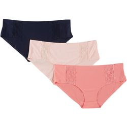 Marilyn Monroe 3-pk. No Show Lace Hipster Panties MM8022