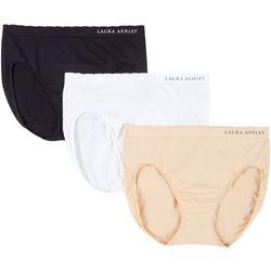 Laura Ashley 3-pk. Seamless Hi-Cut Panties LS9831