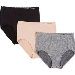 Laura Ashley 3-pk. Seamless Brief Panties LS9443