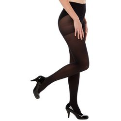 Hue Womens 40 Denier Opaque Control Top Tights
