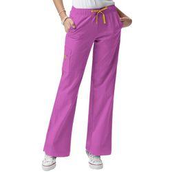 WonderWink Womens 4-Stretch Sporty Cargo Scrub Pants