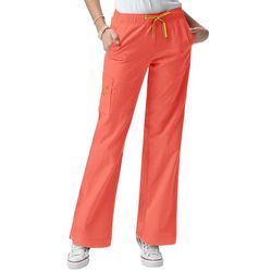 WonderWink Womens 4-Stretch Sporty Cargo Scrub Pants