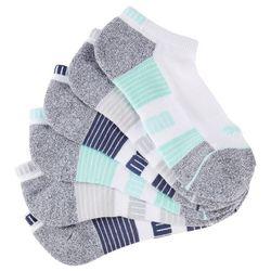 Puma Womens 6-pk. Cool Cell Stripe Low Cut Socks
