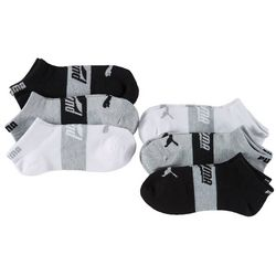 Puma Womens 6-pk. Superlite Solid Low Cut Socks
