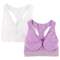 Hanes 2-pk. Cozy Seamless Wirefree Bras HB39