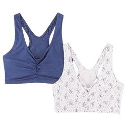 Hanes 2-pk. Comfy Support Wirefree Bra HB70