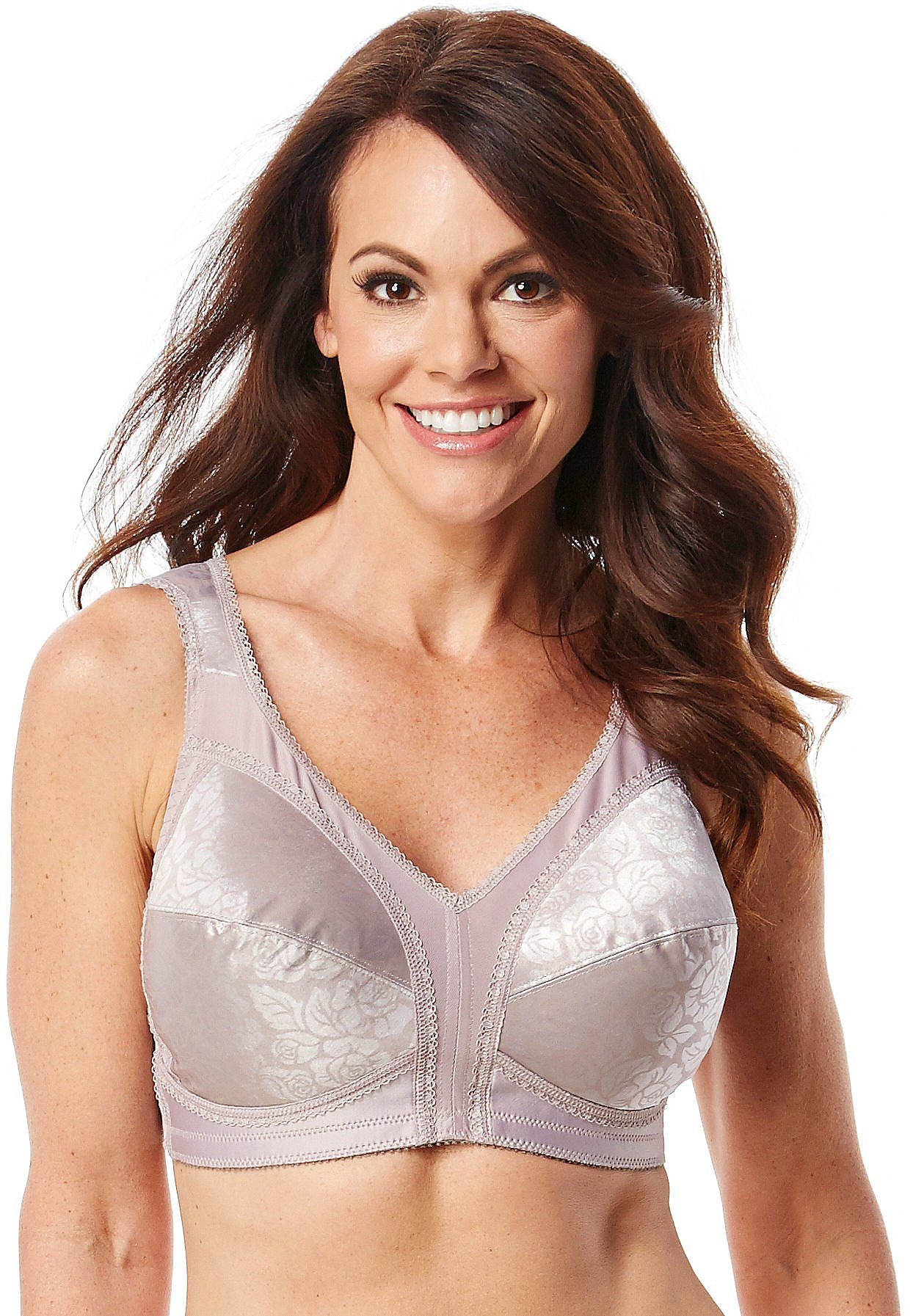 60c25b1aa6 2 Playtex 18 Hour Original Comfort Strap Wirefree Bras 4693 44ddd Warm  Steel. About this product. Picture 1 of 4  Picture 2 of 4 ...