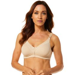Cotton Double Support Wirefree Bra 3036
