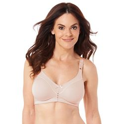 Bali Cotton Double Support Wirefree Bra 3036