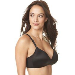 Warner's No Side Effects Mesh Wirefree Contour Bra RM3481A