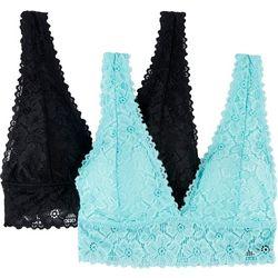 Laundry 2-Pk. Strappy Lace Bralette LABR35496A