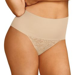 Maidenform Tame My Tummy Lace Thong DM0049