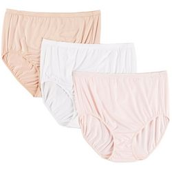 Company Ellen Tracy 3-pk.Microfiber Brief Panties 51409P3