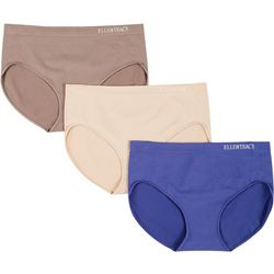 Ellen Tracy 3-pk. Bonded Hi-Cut Panties 51317P3