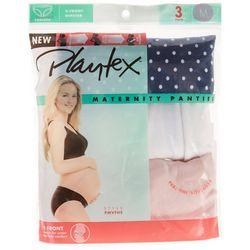 Maternity 3-Pk V-Front Hipster Panties PMVFHS