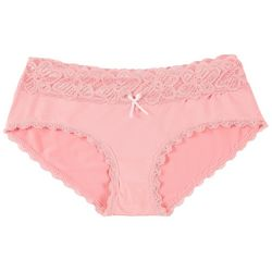 Bay Studio Lace Trim Hipster Panties 1262P