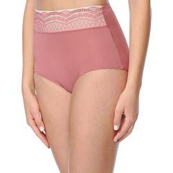 Warner's No Pinching Microfiber Lace Hi-Cut Panties RS7401P