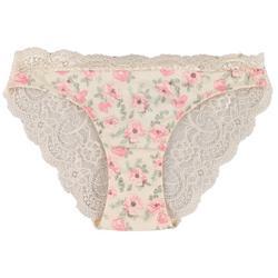 Rene Rofe Peony Lace Back Bikini Panties 147062