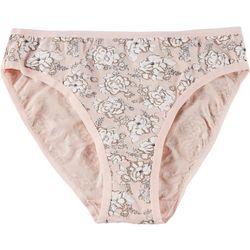 Bay Studio Brushed Cotton Hi-Cut Panties 14538
