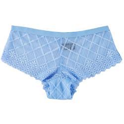 Peep Diamond Lace Hipster Panties BB155850