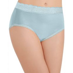 Vanity Fair Flattering Lace Trim Brief Panties 13281