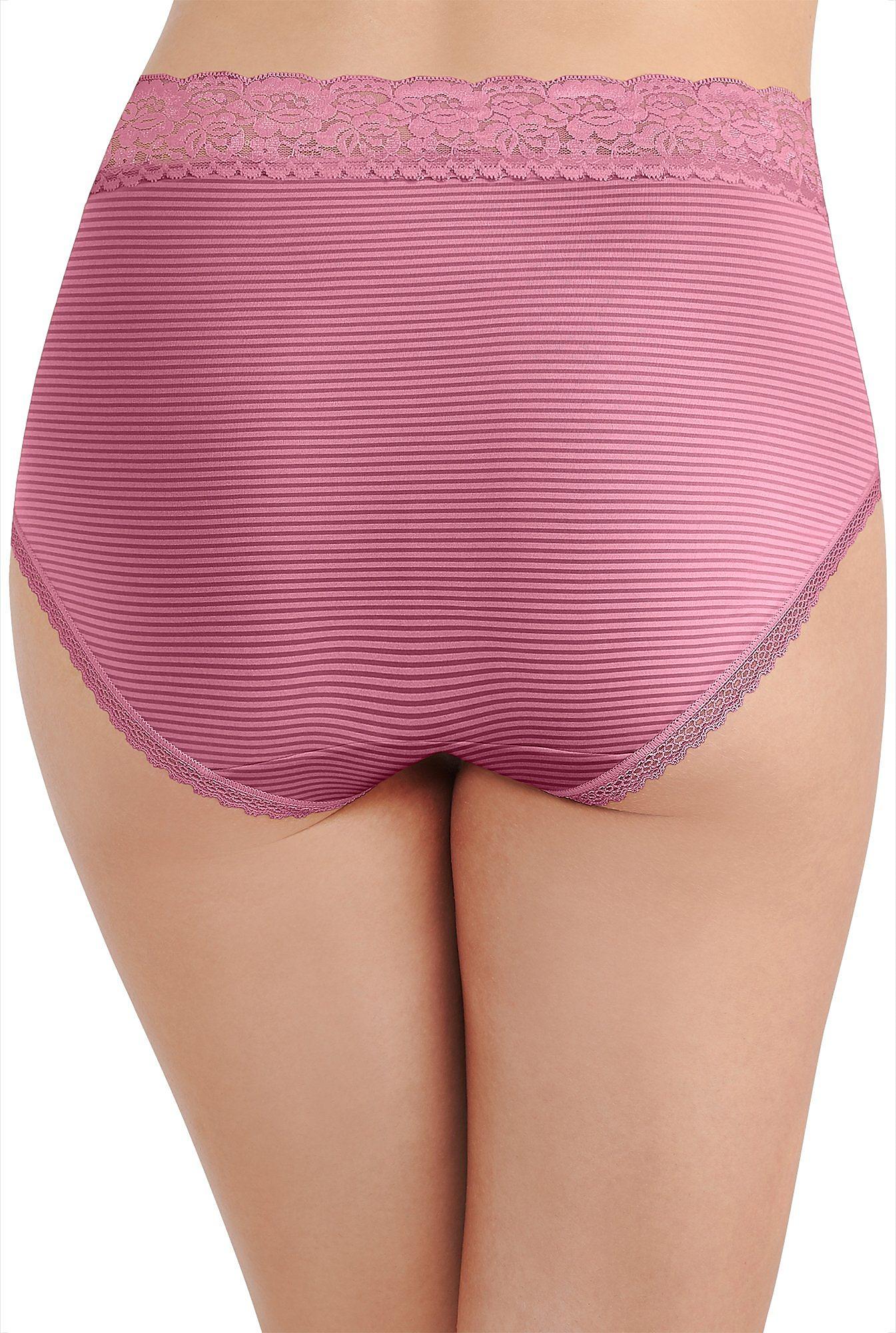 Vanity Fair Flattering Lace Trim Brief Panties 13281 Ebay