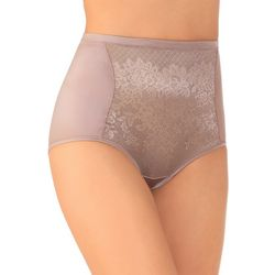 Vanity Fair Smoothing Comfort Lace Brief Panties 13262