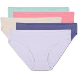 Fruit of the Loom 5-pk. Breathable Micro-Mesh Bikini Panties