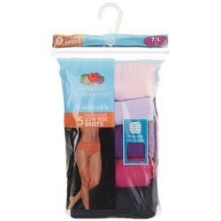 5-pk. Micro-Mesh Brief Panties