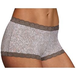 Maidenform Lace Trim Boyshort Panties 40760