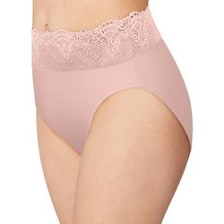 Bali Passion For Comfort Lace Hi Cut Brief Panty DFPC62