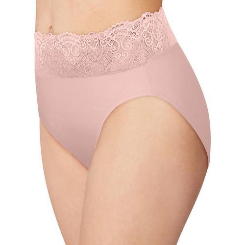 df4de98cab9fa Bali Passion For Comfort Lace Hi Cut Brief Panty DFPC62