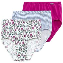 Jockey 3-pk. Elance Pattern Mix  Brief Panties 1484