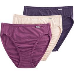 3-pk. Plus Elance Breathe French Cut Panties 1485