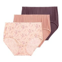 3-pk. Supersoft Breathe Brief Panties 2373