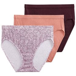 3-pk. Elance Breathe French Cut Panties 1541