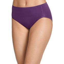 Jockey Smooth & Radiant Hi-Cut Bikini Panties 2966